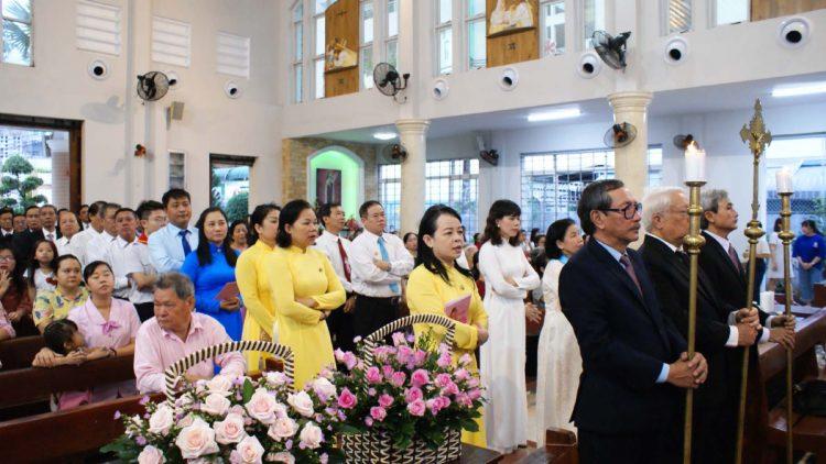 02102019 114906 1 750x422 - Giáo xứ Tân Việt: Mừng lễ Thánh Têrêsa - Bổn Mạng Giáo xứ