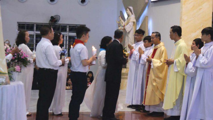 02102019 114906 5 750x422 - Giáo xứ Tân Việt: Mừng lễ Thánh Têrêsa - Bổn Mạng Giáo xứ