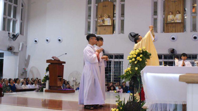 02102019 114906 6 750x422 - Giáo xứ Tân Việt: Mừng lễ Thánh Têrêsa - Bổn Mạng Giáo xứ