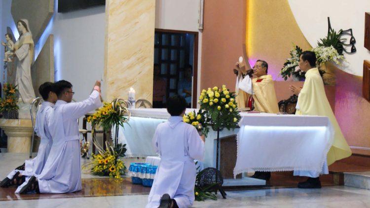 02102019 114906 7 750x422 - Giáo xứ Tân Việt: Mừng lễ Thánh Têrêsa - Bổn Mạng Giáo xứ