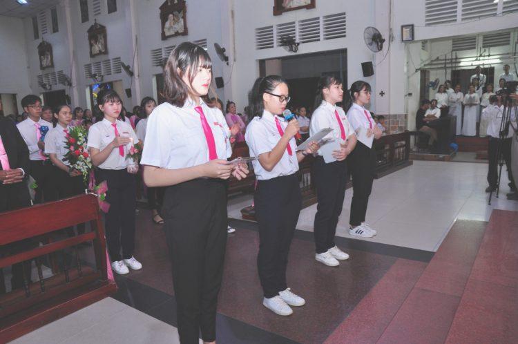 02102019 165006 6 750x498 - Giáo xứ Bình Thuận (Tân Sơn Nhì): Mừng Lễ Thánh Têrêsa