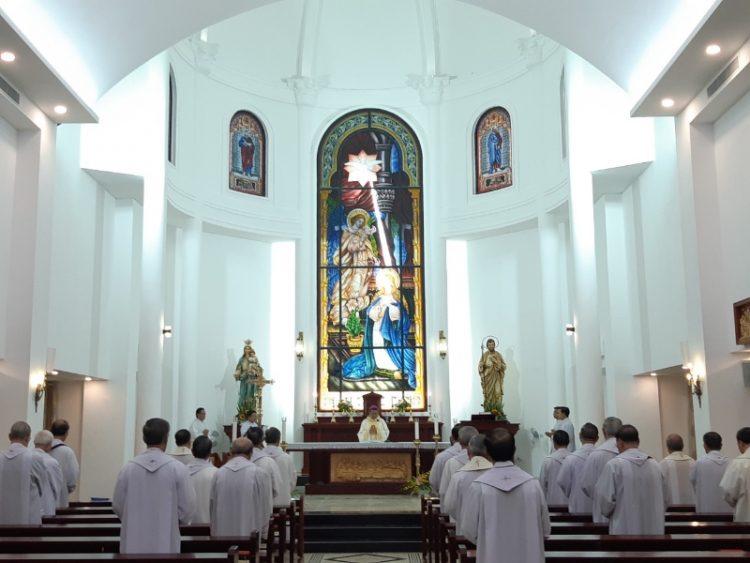 03102019 085002 750x563 - Hội đồng Giám mục Việt Nam: Kết Thúc Ngày Làm Việc Thứ II - Đại Hội XIV