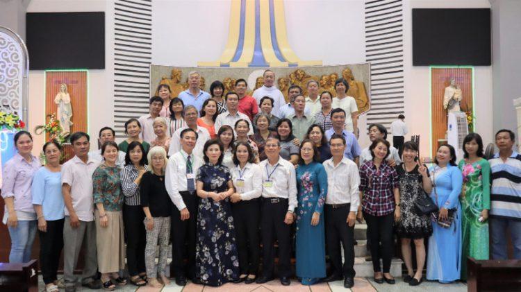 07102019 095627 750x421 - Khóa nội dung và liên gia chương trình Thăng tiến Hôn nhân gia đình Tổng Giáo phận Sài Gòn