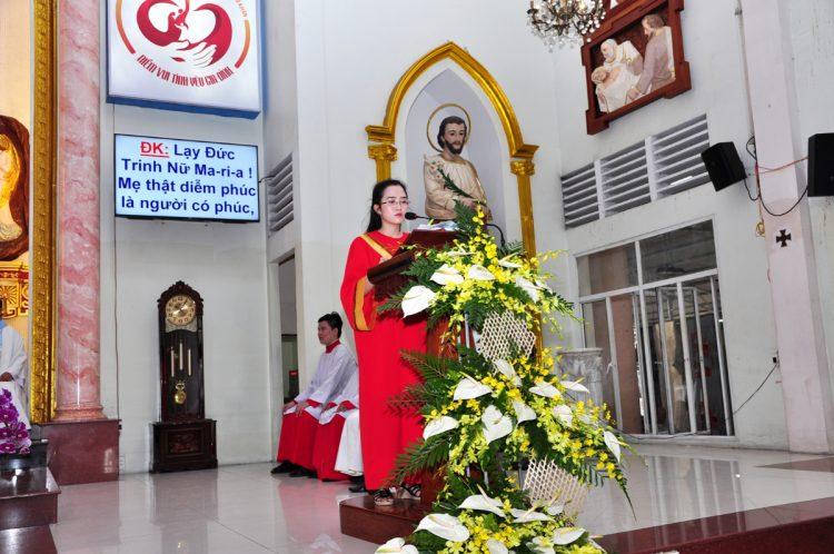 07102019 124531 2 750x498 - Giáo xứ Bình Thuận, hạt Tân Sơn Nhì: Mừng Lễ Đức Mẹ Mân Côi