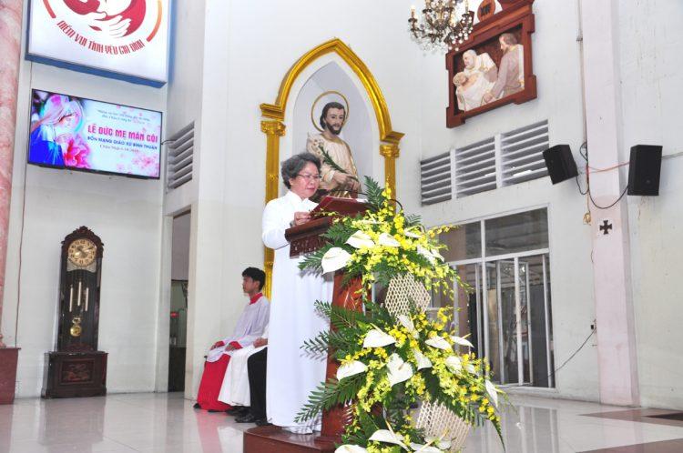 07102019 124531 3 750x498 - Giáo xứ Bình Thuận, hạt Tân Sơn Nhì: Mừng Lễ Đức Mẹ Mân Côi