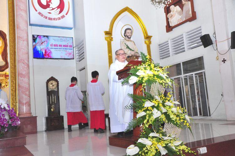 07102019 124531 4 750x498 - Giáo xứ Bình Thuận, hạt Tân Sơn Nhì: Mừng Lễ Đức Mẹ Mân Côi