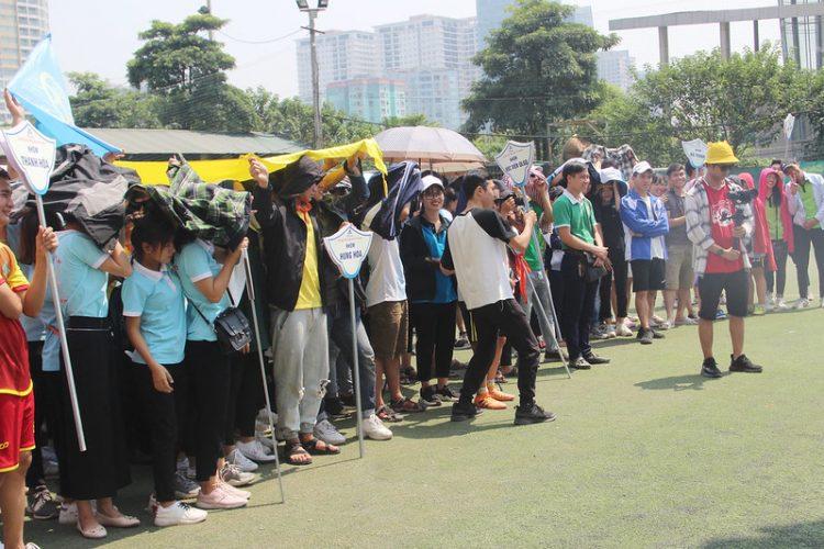 16392 dai hoi tdtt 5 750x500 - Đại hội thể thao sinh viên Công giáo Tổng Giáo phận Hà Nội: Nâng chất - nâng tài
