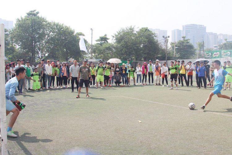 16392 dai hoi tdtt 7 750x500 - Đại hội thể thao sinh viên Công giáo Tổng Giáo phận Hà Nội: Nâng chất - nâng tài