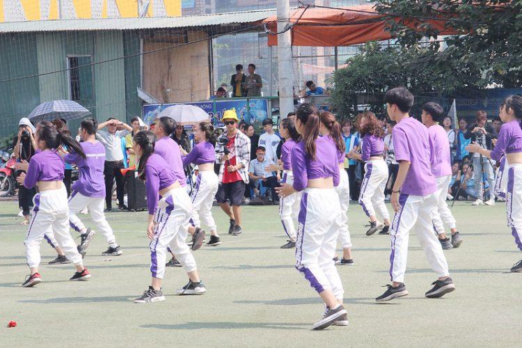 16392 dai hoi tdtt 8 750x500 - Đại hội thể thao sinh viên Công giáo Tổng Giáo phận Hà Nội: Nâng chất - nâng tài