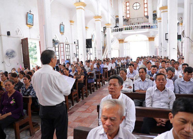 16399 hdmv 3 750x542 - Giáo hạt Phú Xuyên: Họp mặt Hội đồng mục vụ các giáo xứ 2019
