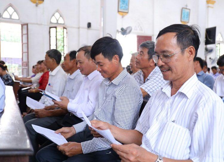 16399 hdmv 8 750x542 - Giáo hạt Phú Xuyên: Họp mặt Hội đồng mục vụ các giáo xứ 2019