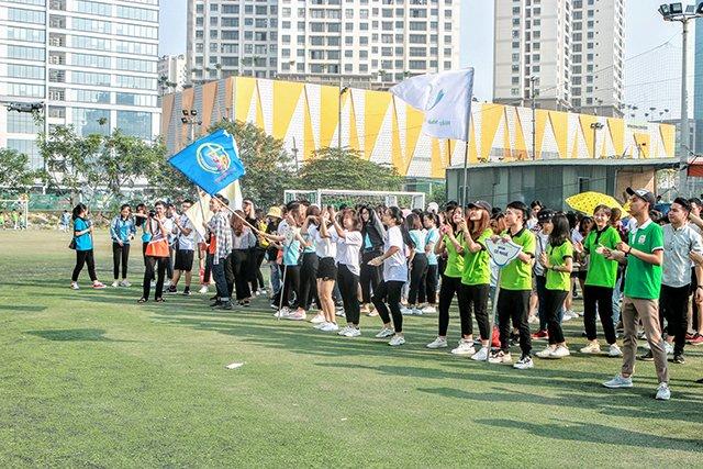 16407 sinh vien 1 - Bế mạc Đại hội Thể dục thể thao 2019 Hội Sinh viên Công giáo TGP Hà Nội