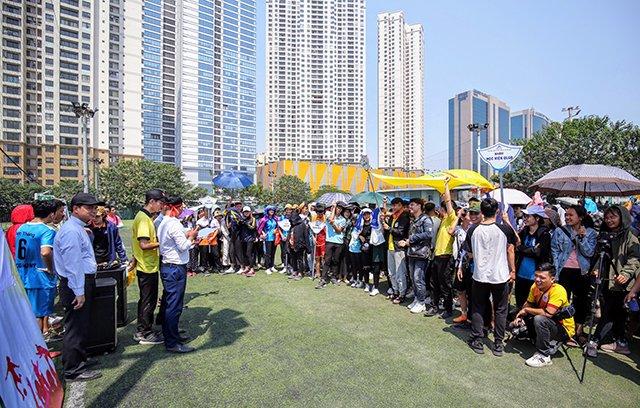 16407 sinh vien 11 - Bế mạc Đại hội Thể dục thể thao 2019 Hội Sinh viên Công giáo TGP Hà Nội