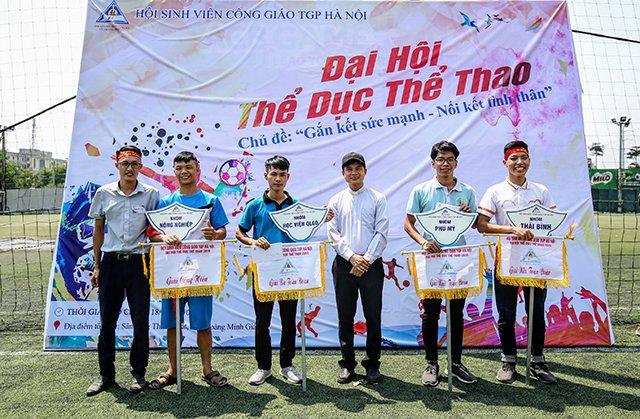 16407 sinh vien 13 - Bế mạc Đại hội Thể dục thể thao 2019 Hội Sinh viên Công giáo TGP Hà Nội