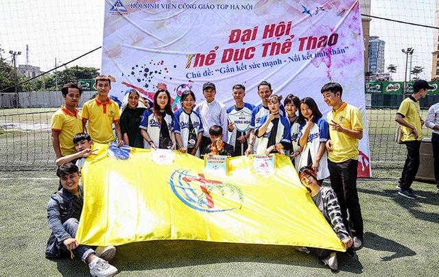 16407 sinh vien 14 - Bế mạc Đại hội Thể dục thể thao 2019 Hội Sinh viên Công giáo TGP Hà Nội