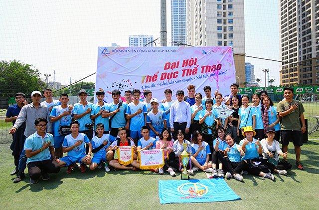 16407 sinh vien 15 - Bế mạc Đại hội Thể dục thể thao 2019 Hội Sinh viên Công giáo TGP Hà Nội