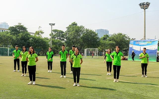 16407 sinh vien 2 - Bế mạc Đại hội Thể dục thể thao 2019 Hội Sinh viên Công giáo TGP Hà Nội
