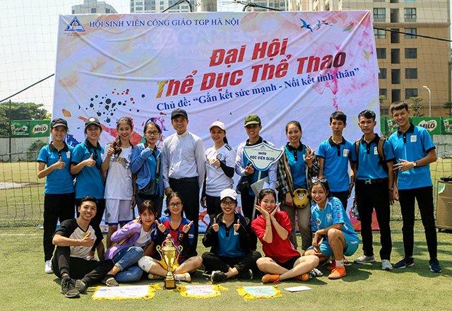 16407 sinh vien 21 - Bế mạc Đại hội Thể dục thể thao 2019 Hội Sinh viên Công giáo TGP Hà Nội