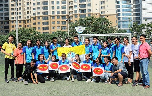 16407 sinh vien 8 - Bế mạc Đại hội Thể dục thể thao 2019 Hội Sinh viên Công giáo TGP Hà Nội