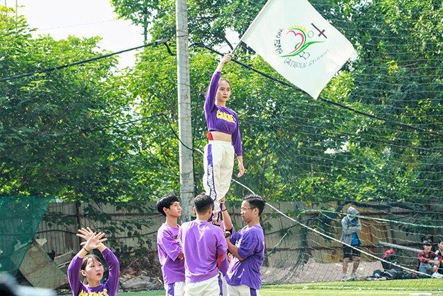 16407 sinh vien 9 - Bế mạc Đại hội Thể dục thể thao 2019 Hội Sinh viên Công giáo TGP Hà Nội