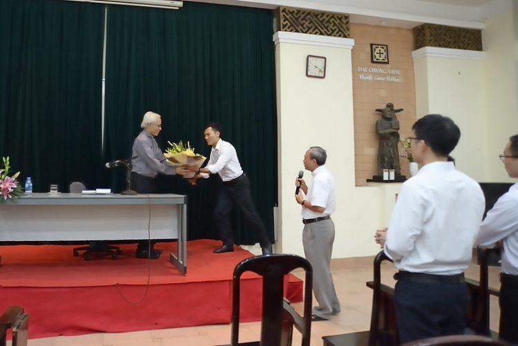 16451 huan duc 1 750x501 - Đức Giám mục giáo phận Bắc Ninh huấn đức tại Đại Chủng Viện thánh Giuse Hà Nội