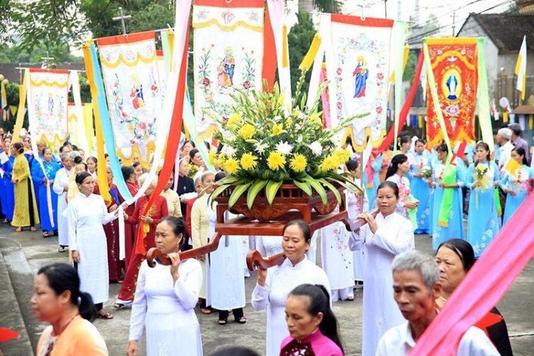 16538 tuy hien 1 750x500 - Giáo xứ Tụy Hiền: Khánh thành nhà mục vụ và Thánh lễ tạ ơn