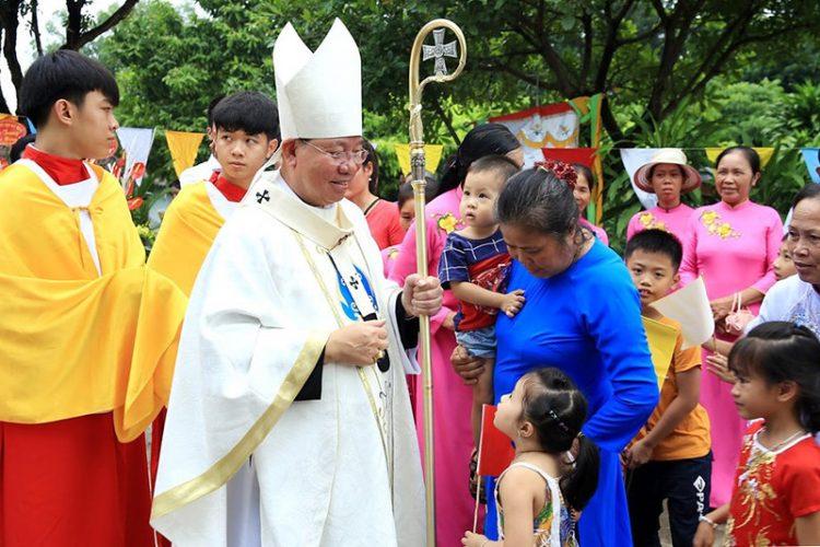16538 tuy hien 11 750x500 - Giáo xứ Tụy Hiền: Khánh thành nhà mục vụ và Thánh lễ tạ ơn