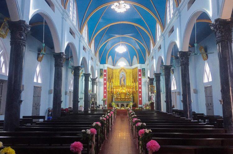 16538 tuy hien 16 750x496 - Giáo xứ Tụy Hiền: Khánh thành nhà mục vụ và Thánh lễ tạ ơn