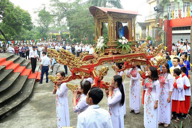 16538 tuy hien 2 750x500 - Giáo xứ Tụy Hiền: Khánh thành nhà mục vụ và Thánh lễ tạ ơn