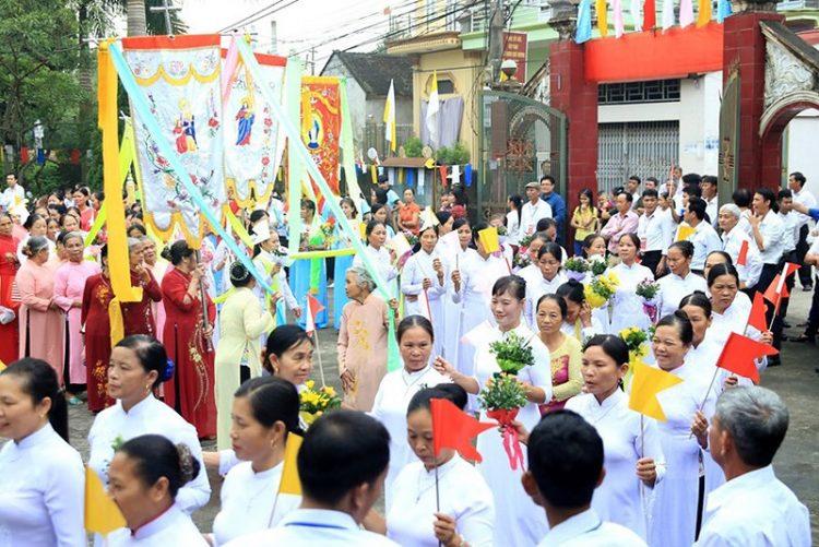 16538 tuy hien 3 750x501 - Giáo xứ Tụy Hiền: Khánh thành nhà mục vụ và Thánh lễ tạ ơn