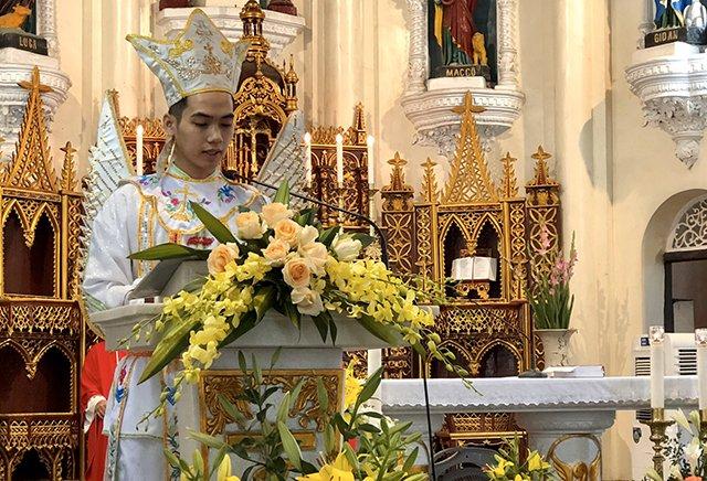 16539 thach bich 4 - Hội Trống giáo xứ Thạch Bích mừng lễ quan thầy lần thứ hai