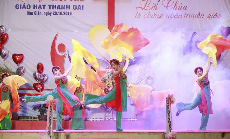 16560 gioi tre 15 750x455 - Đại hội giới trẻ giáo hạt Thanh Oai 2019