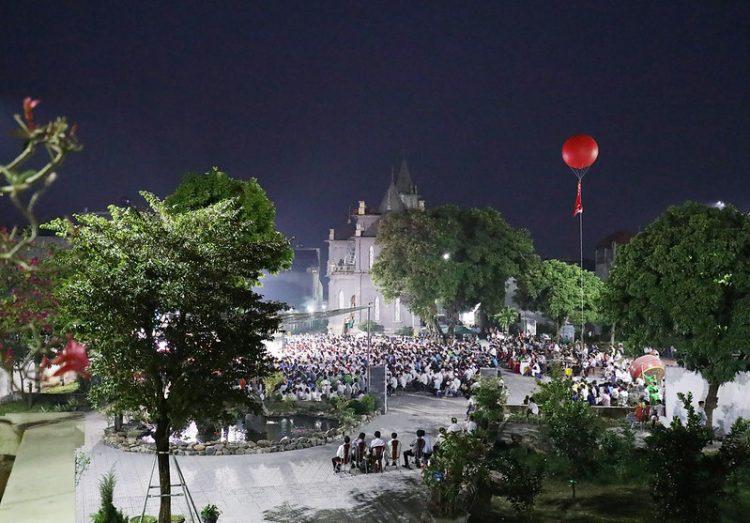 16560 gioi tre 20 750x523 - Đại hội giới trẻ giáo hạt Thanh Oai 2019