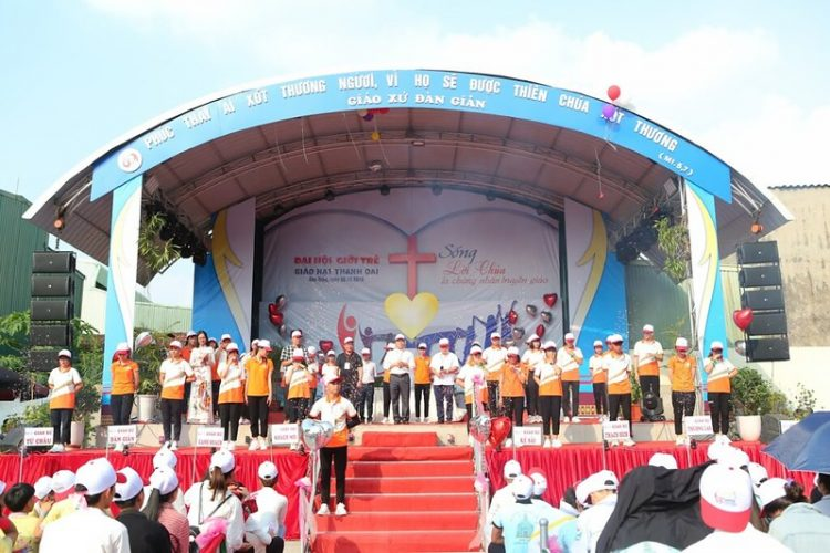 16560 gioi tre 4 750x500 - Đại hội giới trẻ giáo hạt Thanh Oai 2019