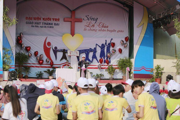 16560 gioi tre 5 750x500 - Đại hội giới trẻ giáo hạt Thanh Oai 2019
