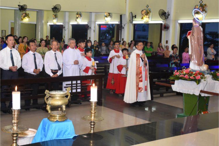 23102019 092451 750x500 - Giáo xứ Nam Hải: Niềm vui ngày tạ ơn
