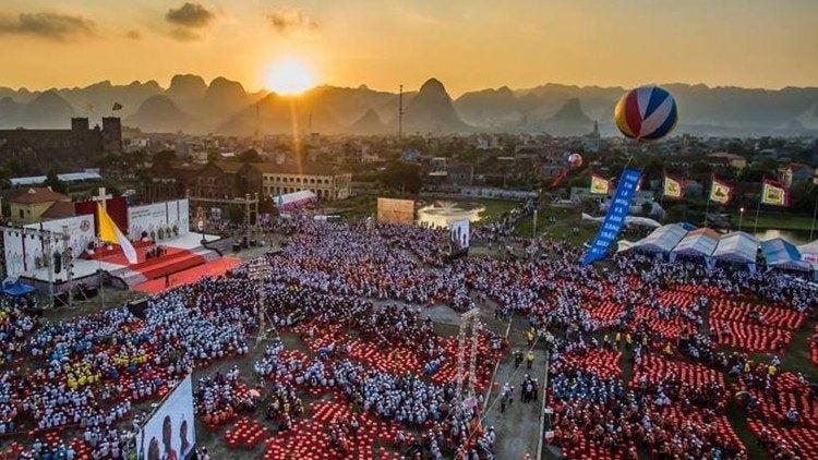 dai hoi gioi tre giao tinh ha noi 2019 bui chu 3 750x422 - Đại hội giới trẻ giáo tỉnh Hà Nội: 20 ngàn bạn trẻ sẽ về nguồn