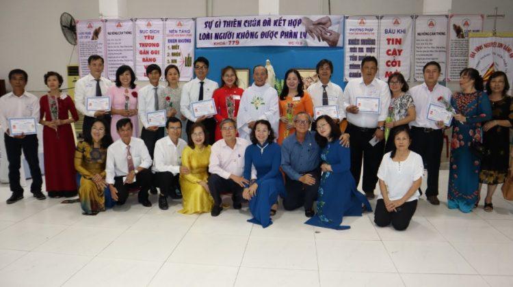 thang tien hon nhan gia dinh 05 750x420 - Chương trình Thăng tiến hôn nhân gia đình Tổng Giáo phận Sài Gòn: Khóa căn bản 779