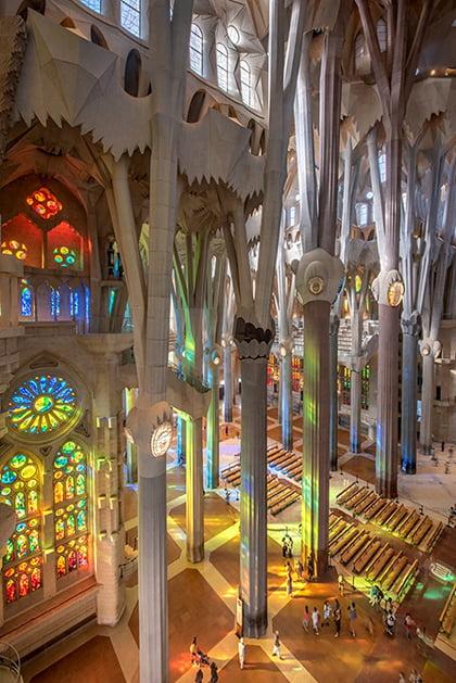 nha tho hon mot the ky chua xay xong o barcelona 1 - Nhà thờ hơn một thế kỷ chưa xây xong ở Barcelona