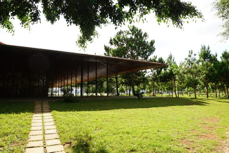 nha tho ka don linh hon churu giua rung lam vien 1 750x500 - Nhà thờ Ka Đơn - linh hồn Churu giữa rừng Lâm Viên