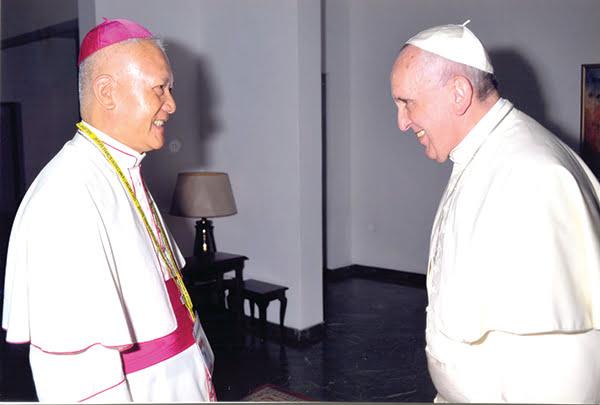 Đức Thánh Cha chấp nhận đơn từ chức của Đức Tổng Giám mục Phêrô Nguyễn Văn Tốt