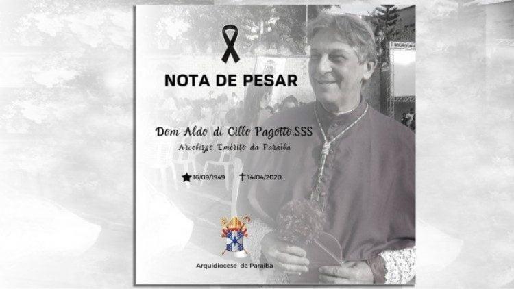 duc cha aldo di cillo pagotto 750x422 - Giám mục đầu tiên tại Brazil qua đời vì coronavirus